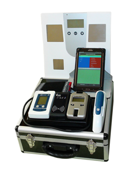 Mobile Health Station<br>(mass measurement model for business)